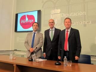 Presentación del club 'Salamanca en bandeja' .