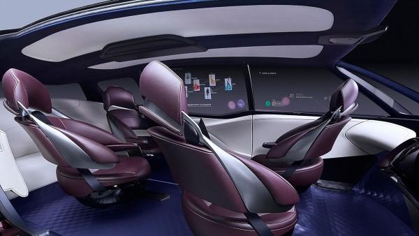 Interior del Toyota Fine-Comfort Ride
