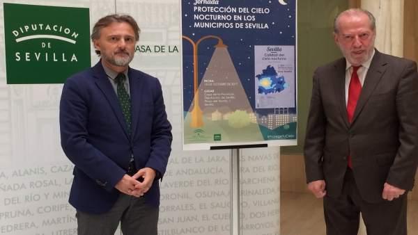 José Fiscal y Fernando Rodríguez Villalobos, en la inauguración de las jornadas