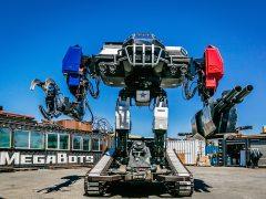 "Llegan los combates ""a muerte"" entre robots gigantes"