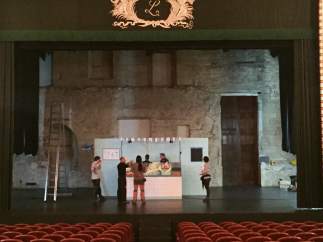 Producción de la obra 'Agallas' de Kamaru Teatro.