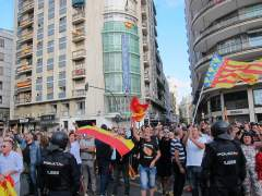 Imatge de la manifestació a València