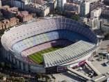Vista aérea del Camp Nou