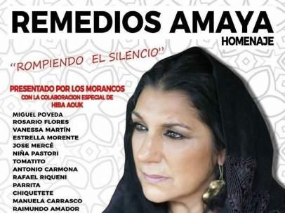 Homenaje a Remedios Amaya en el Auditorio Rocío Jurado
