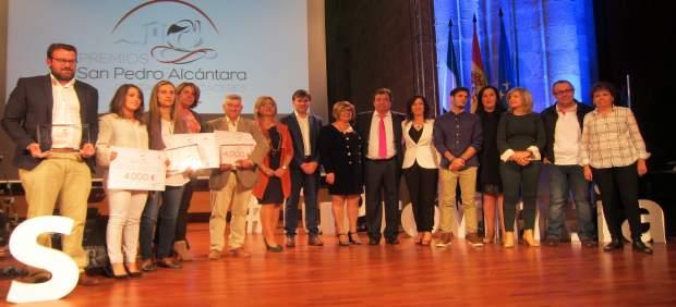 Entrega de los I Premios San Pedro de Alcántara de la Diputación de Cáceres