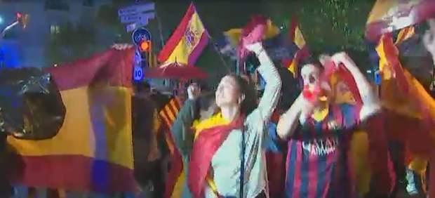 Manifestación contra el independentismo