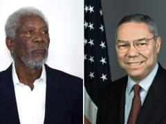 Morgan Freeman, Colin Powell