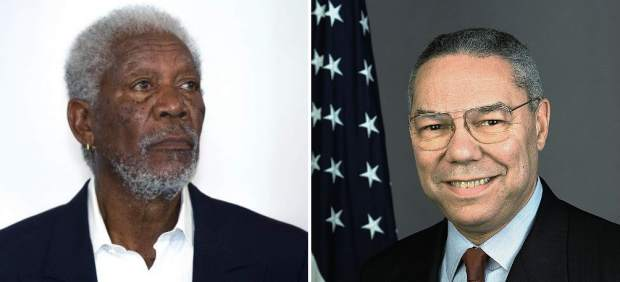 Morgan Freeman, Colin Powell