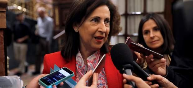 Margarita Robles, portavoz del PSOE en el Congreso.