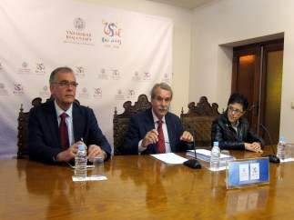 Salamanca.- Representantes de la Junta electoral de la USAL