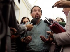 Iglesias promete forzar un referéndum si se cambia la Constitución