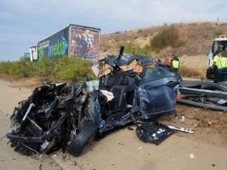 Accidente múltiple en la autovía Ex-A1 de Extremadura.