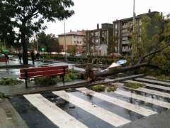 Ríos desbordados, carreteras cortadas, 17 heridos... Cataluña sufre los coletazos del ciclón Leslie