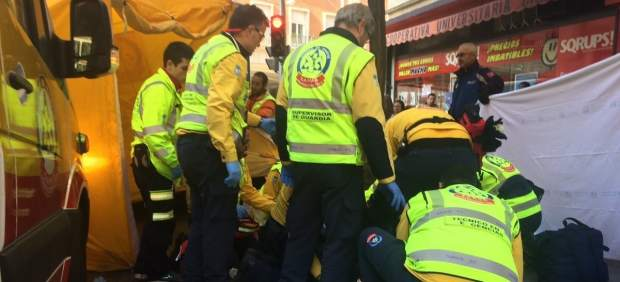 Muere Una Mujer De 83 Años Atropellada Por Un Autobús De La EMT En Chamberí