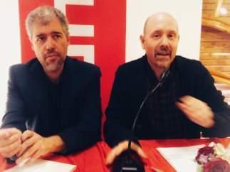 Unai Sordo y Manuel Pina.