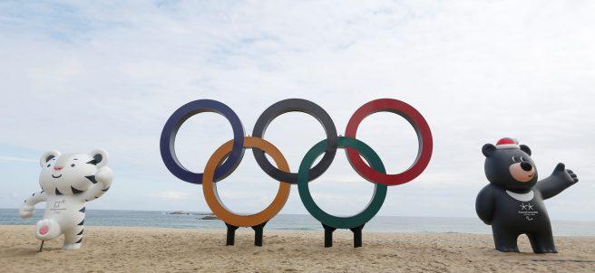 Peparación de los Juegos Olímpicos de Invierno 2018
