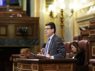 El diputado del PP  Juan José Matarí en el Congreso