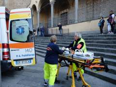 Muere un español en Florencia golpeado por una piedra que cayó de una iglesia