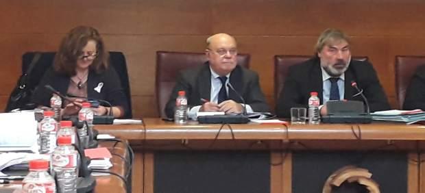 Sota en la  comisión de investigación de Ecomasa