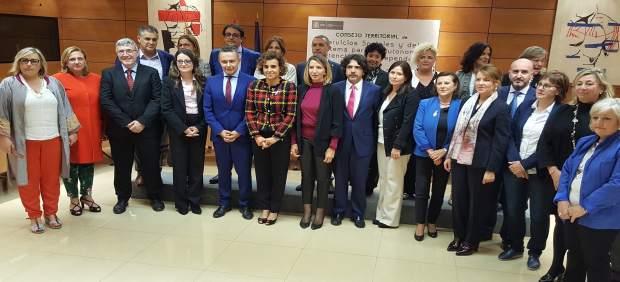 Reunión del Consejo Territorial de Servicios Sociales