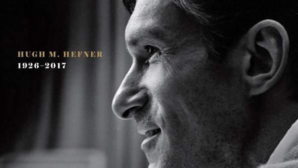 Hugh Hefner, en la portada de 'Playboy'