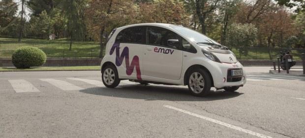 Emov amplía su flota a 600 coches y llega hasta Hortaleza