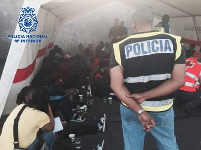 Policía Nacional inmigración