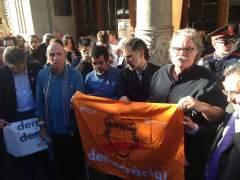 Sànchez (ANC) alega que convocaron una concentración pacífica sin impedir registros