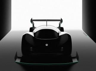 Coche de carreras eléctrico de Volkswagen
