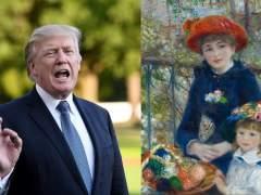 El Renoir de Trump es falso, según los expertos