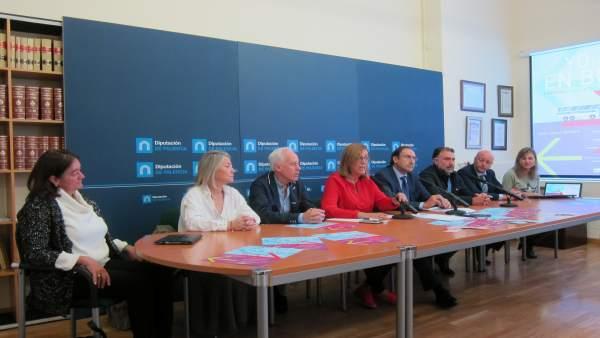 Presentación de las tres nuevas líneas de transporte en Palencia