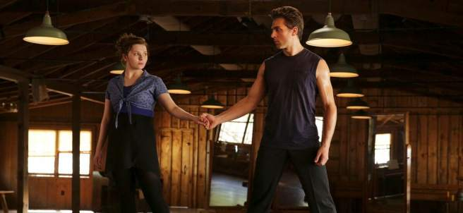 Escena de la miniserie 'Dirty Dancing'.