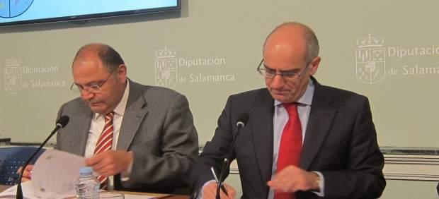 Salamanca: Martín (I)  E Iglesias (D)
