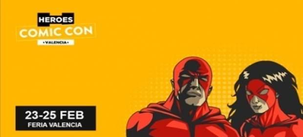 Cartel Heroes Comic Con Valencia