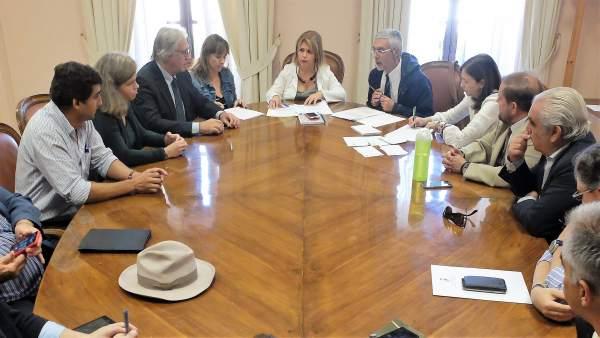 Reunión del Ayuntamiento de Jerez
