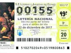 La 'fiebre' por el 155 desborda a los loteros para el Gordo de Navidad