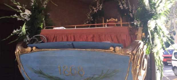 El Carro Triunfal de la Beata desfilará este sábado por las calles de Palma