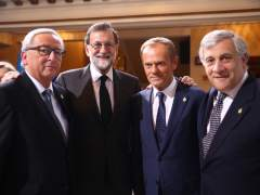 """Tajani: """"Cuando el Tribunal de Justicia dicta una sentencia, se aplica y punto"""""""