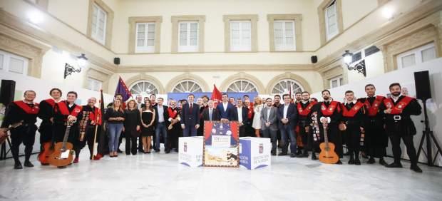 Recepción oficial para el Certamen Nacional de Tunas de Derecho