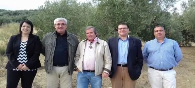 Visita al depósito de El Mármol, en Rus (Jaén)