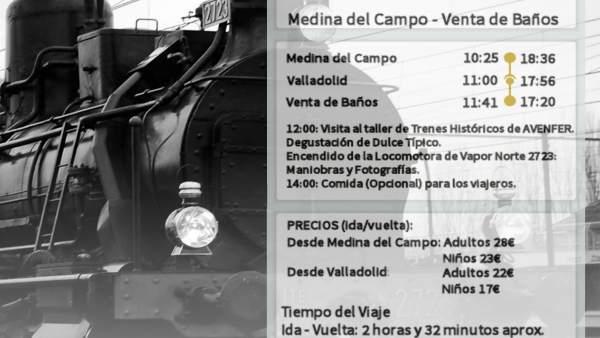 Tren histórico Avenfer