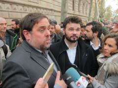 """ERC tilda de """"golpe de Estado"""" el anuncio de medidas del 155"""