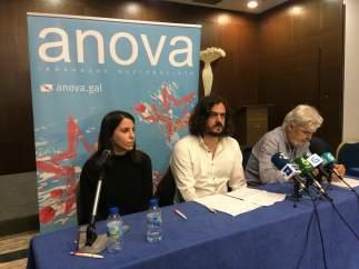 Rueda de prensa de Anova este sábado en Teo (A Coruña)