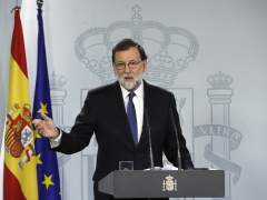 """Rajoy pide """"que no se vayan más empresas ni depósitos, esto se arreglará"""""""