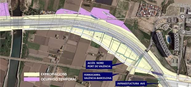 Per l'Horta se opone a la destrucción de la huerta para ampliar la V-21