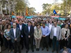 Rull, Turull, Ponsatí y Borrás, en la lista de Puigdemont tras Jordi Sánchez