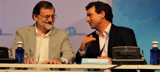Mariano Rajoy y Biel Company