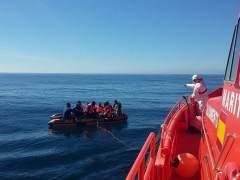 Ascienden a 279 los inmigrantes rescatados en costas españolas