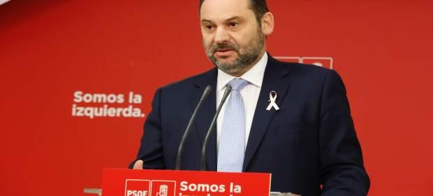 Rueda de prensa de José Luis Ábalos