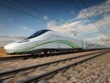 Tren AVE de Talgo para el Ave La Meca-Medina